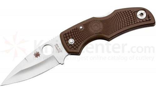 Spyderco Brown Native
