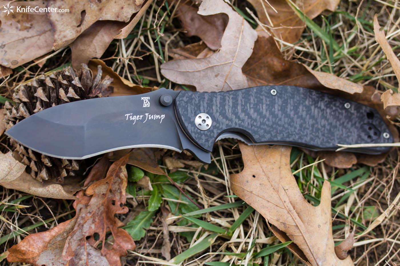 Dendra Knives Tiger Jump Folding