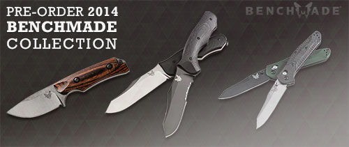 Benchmade Knives New for 2014