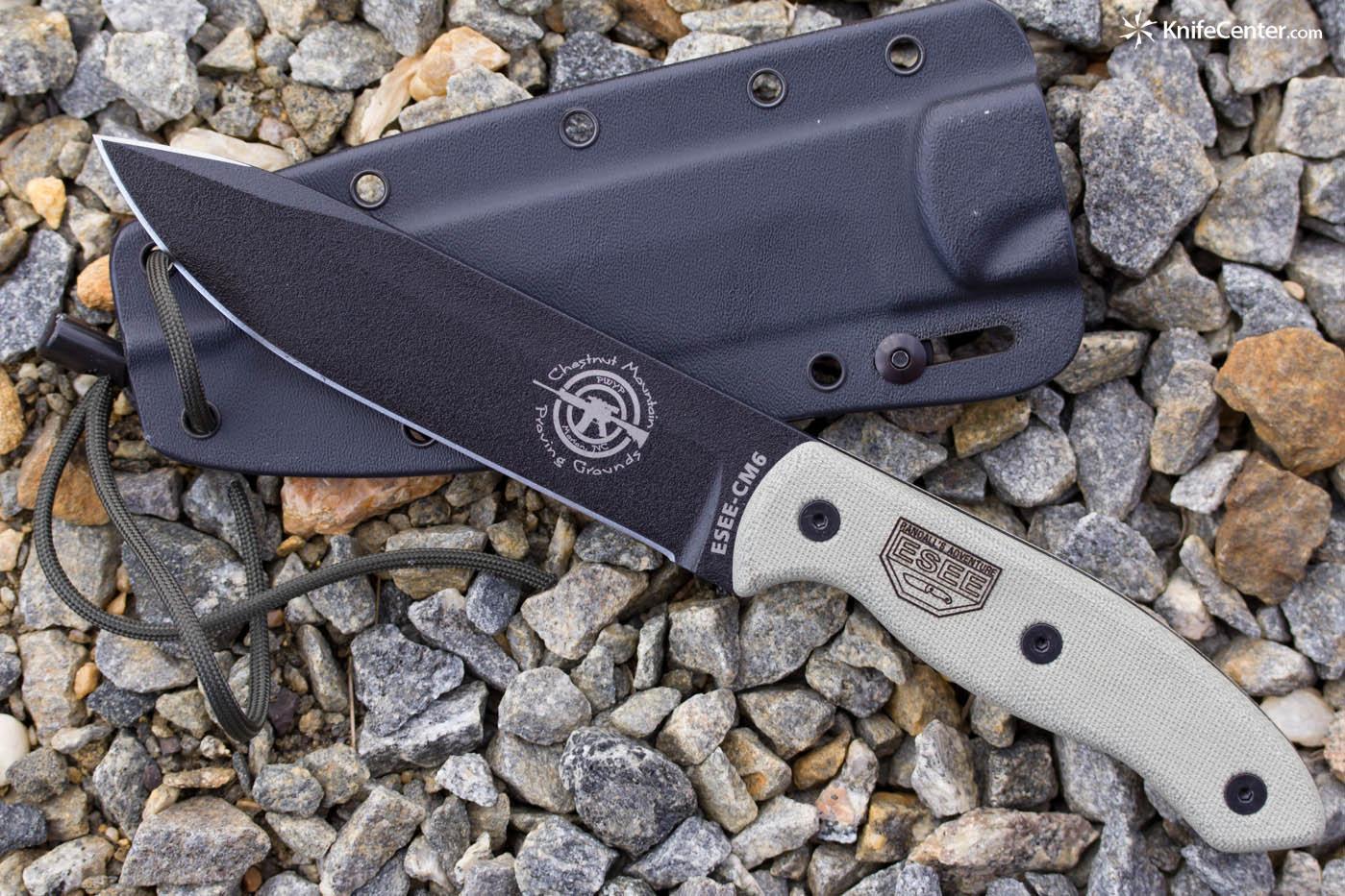 ESEE Knives CM6 Combat Knife