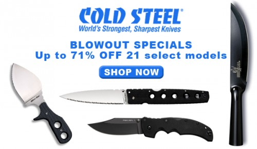 Cold Steel Blowout