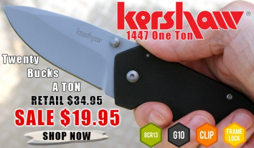 Kershaw One Ton Sale