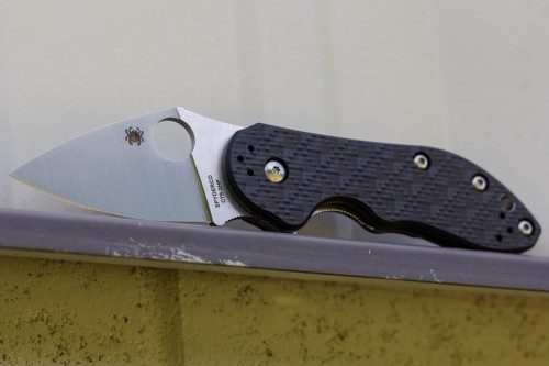 Spyderco C182CFTIP Dice Folding Knife