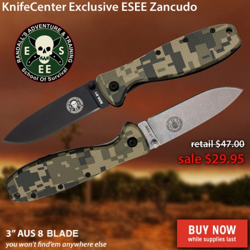KnifeCenter Exclusive