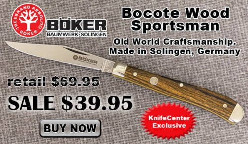 43% OFF Boker Bocote Wood Sportsman