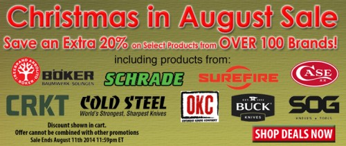 Christmas In August Sale