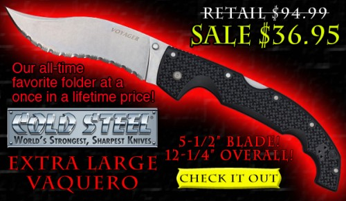 Cold Steel Extra Large Vaquero Sale