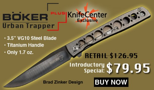 Boker Plus Urban Trapper Folding Knife