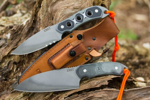 Columbia River 3500 HoodWork Survival Knife & 3510 HCK1 Hood Camp Knife