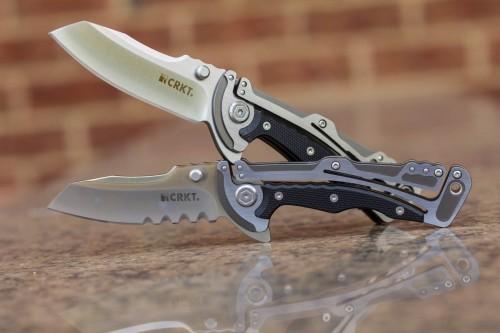 CRKT Graphite Folding Knives