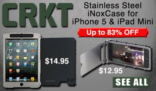 CRKT iNoxCase for iPhone 5 and iPad Mini