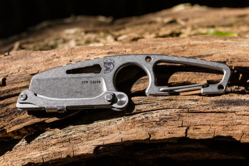 """DPx Gear HIT Cutter 2"""" S35VN Blade with Centric Lock"""