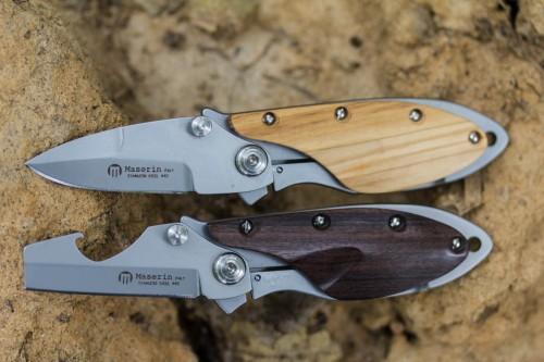 Maserin 550/OL OneFolt & 551/SA Damp Folding Knives