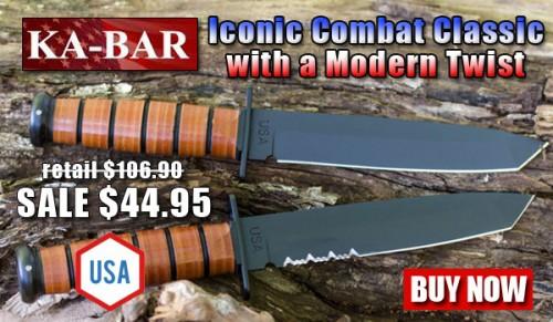 KA-BAR US Tanto Fighting Knives