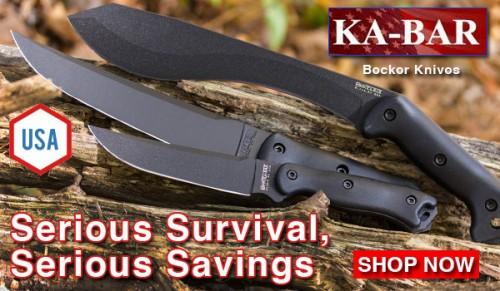 KA-BAR Becker Survival Knife Sale
