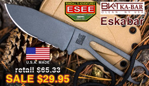 KA-BAR ESEE Becker Eskabar