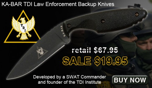 KA-BAR TDI Law Enforcement Knives