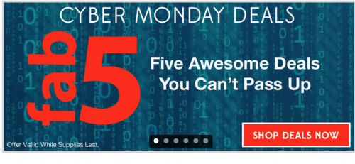 Cyber Monday Killer Deals