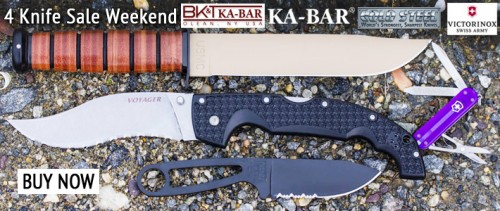 4 Knife Weekend Sale