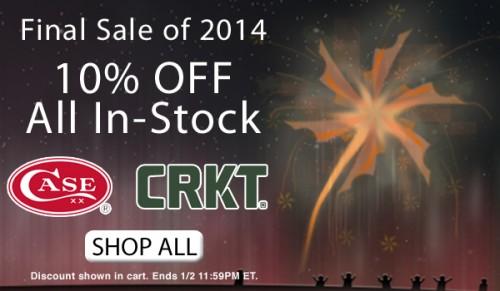 Last Sale of 2014