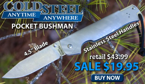 Cold Steel 95FB Pocket Bushman