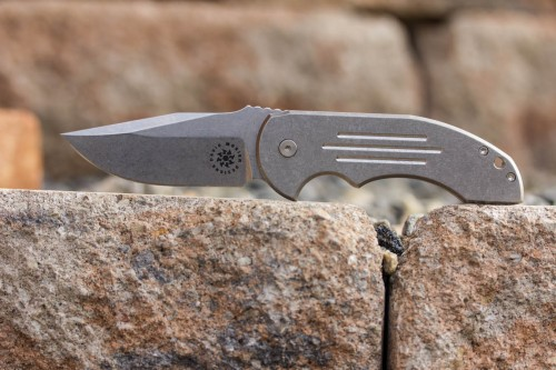 David Mosier Knives Crossfire Midtech Flipper