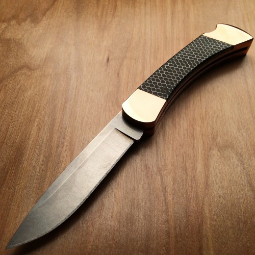 The Copper Hunter LE: a classy version of a classic knife.