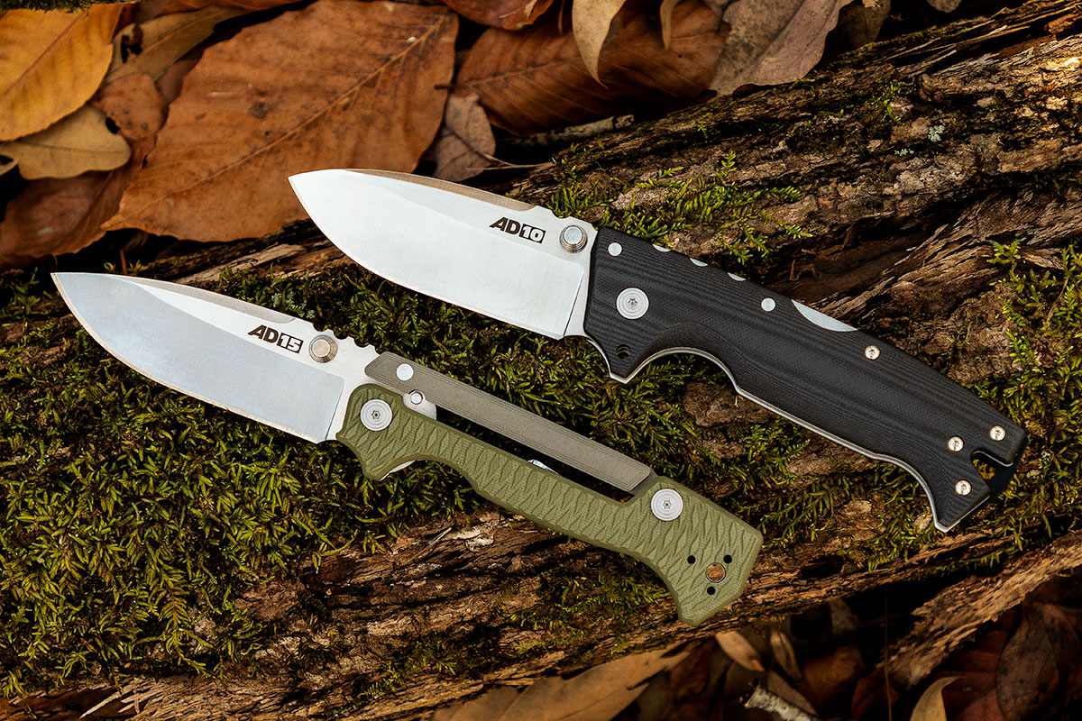 Cold Steel AD-10 and AD-15 Designed by Andrew Demko