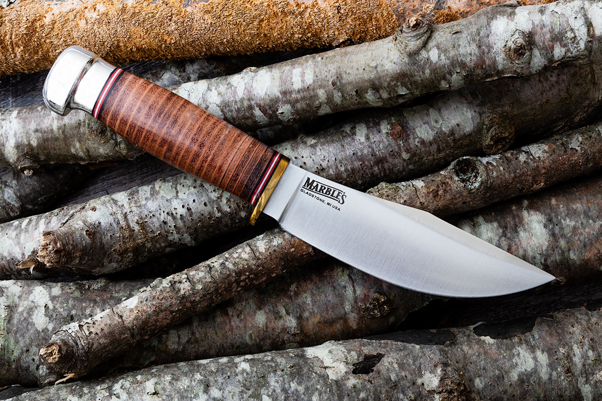 Marbles 100th Anniversary Woodcraft Fixed Blade Hunting Knife