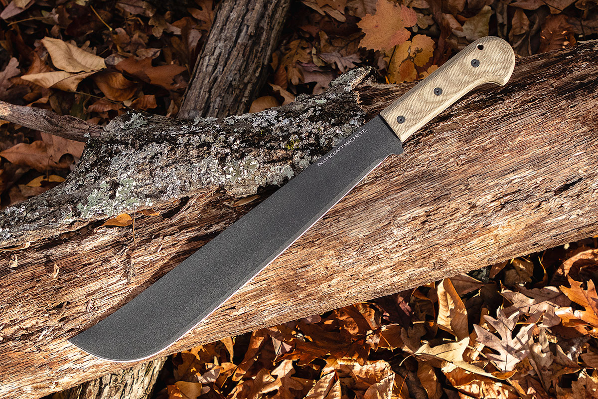 "Ontario 16"" Bushcraft Machete"