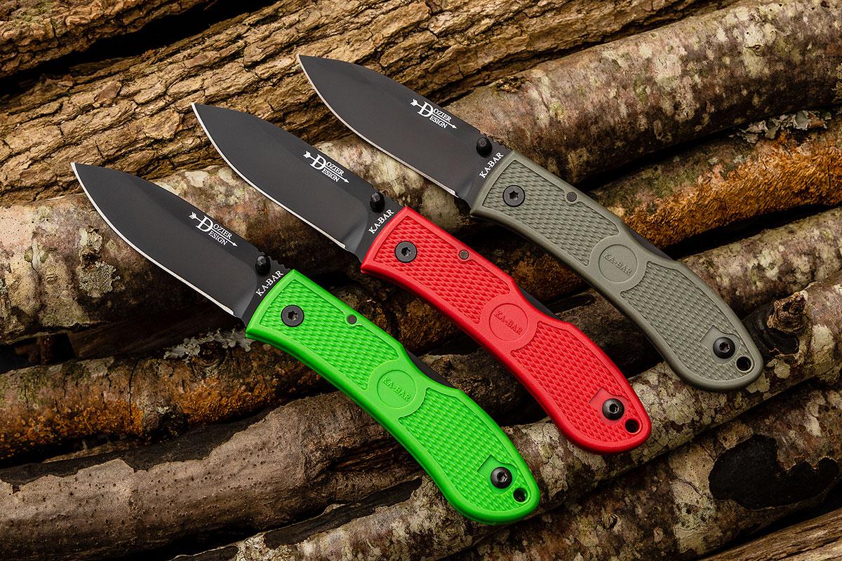 KA-BAR Bob Dozier Folding Hunter Pocket Knife