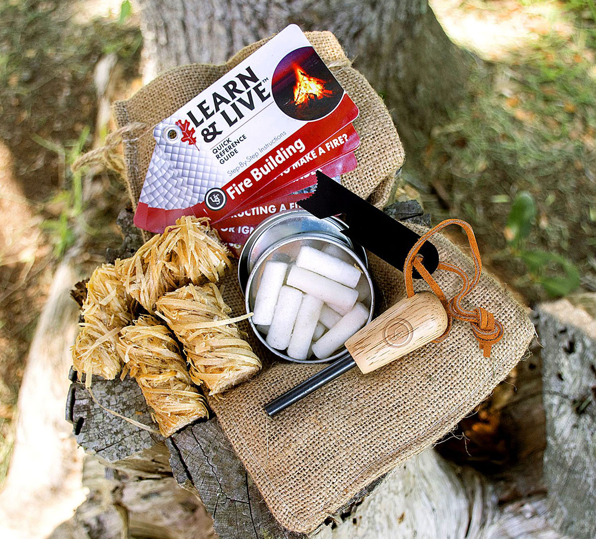 UST Ultimate Survival Technologies Fire Kit