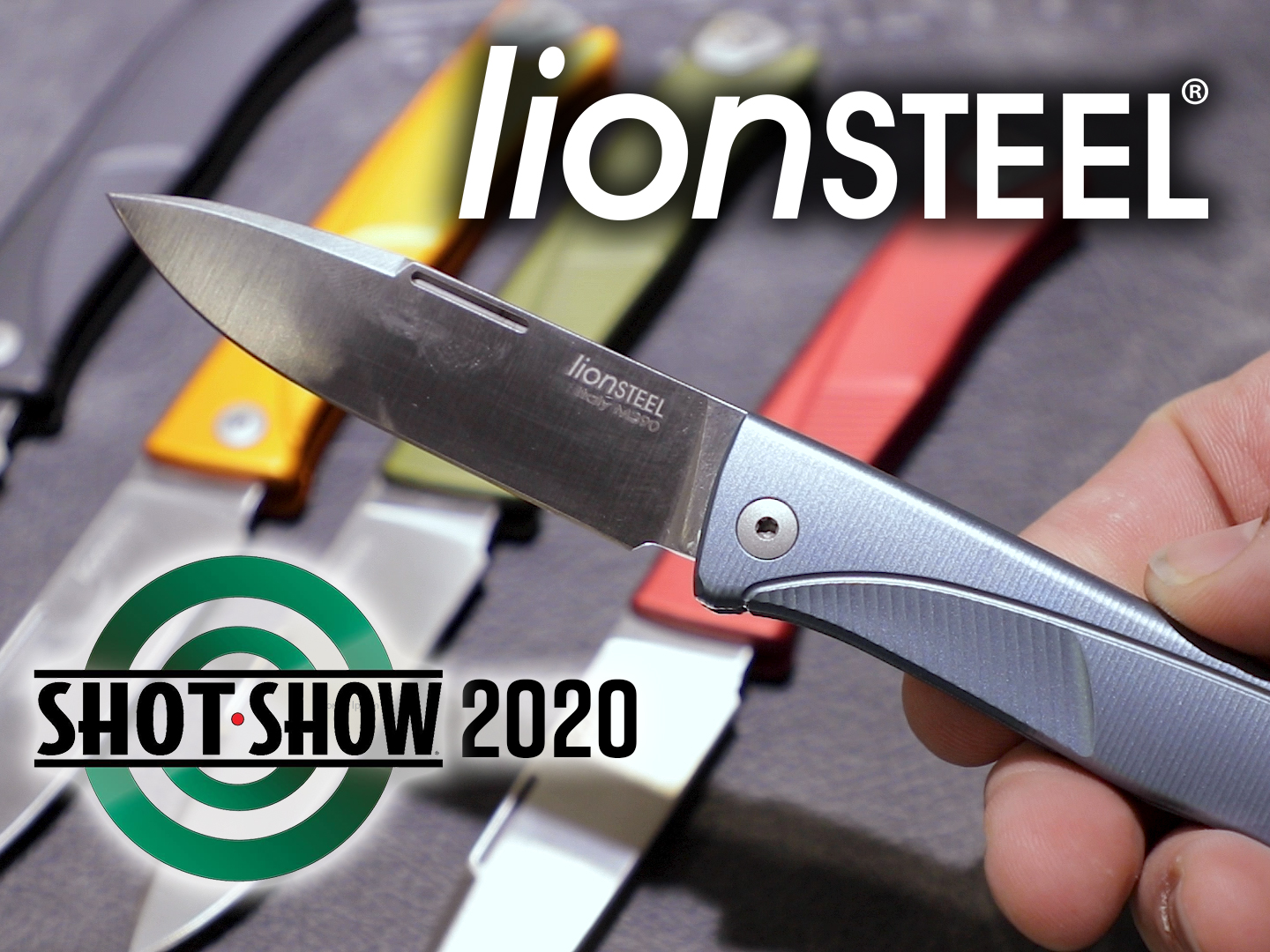 Lionsteel shot show 2020 main image