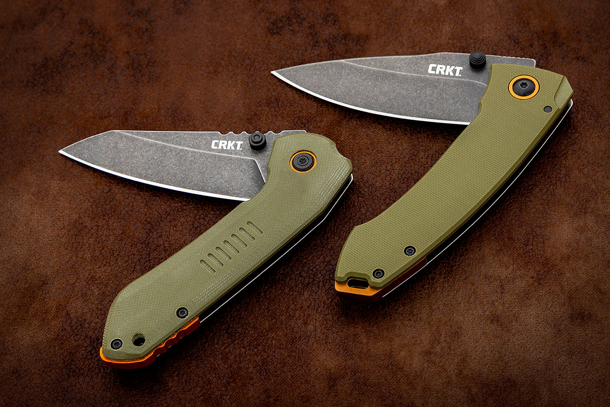 CRKT Overland and Tuna Folding Knives