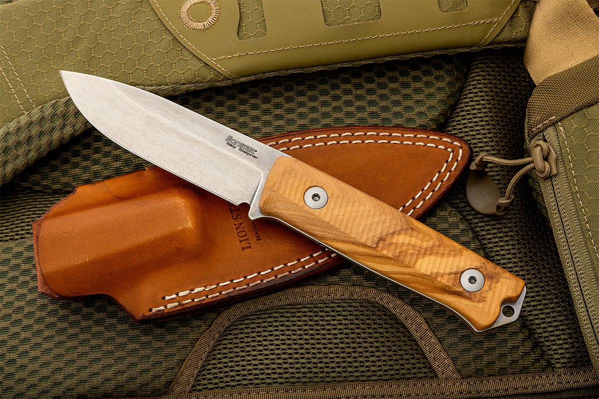 Lionsteel B40 Bushcraft Fixed Blade