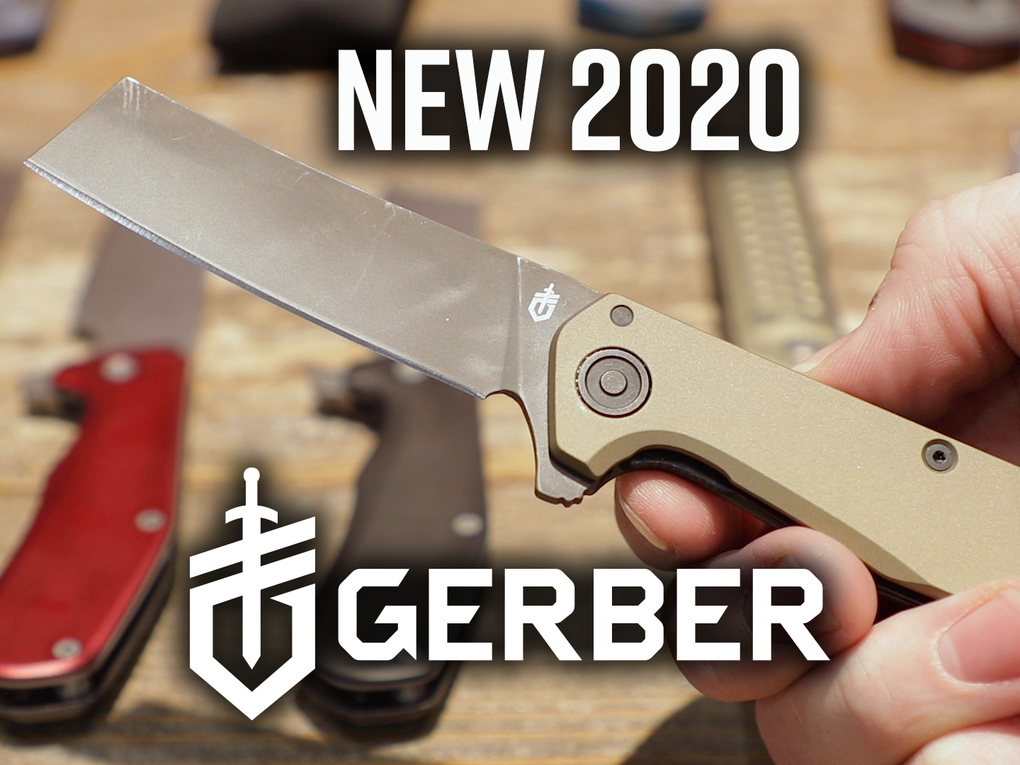 New 2020 Gerber knives, featuring Gerber Fastball