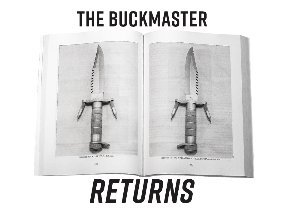 The Buckmaster returns, shown in an vintagebook
