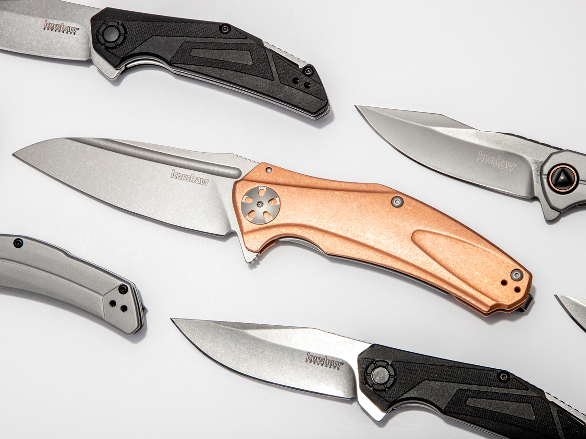New Kershaw Knives, featuring the Copper Natrix XL