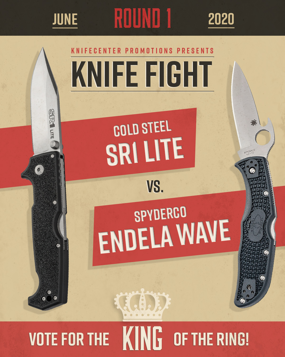 Cold Steel SR1 Lite vs Spyderco Endela Wave