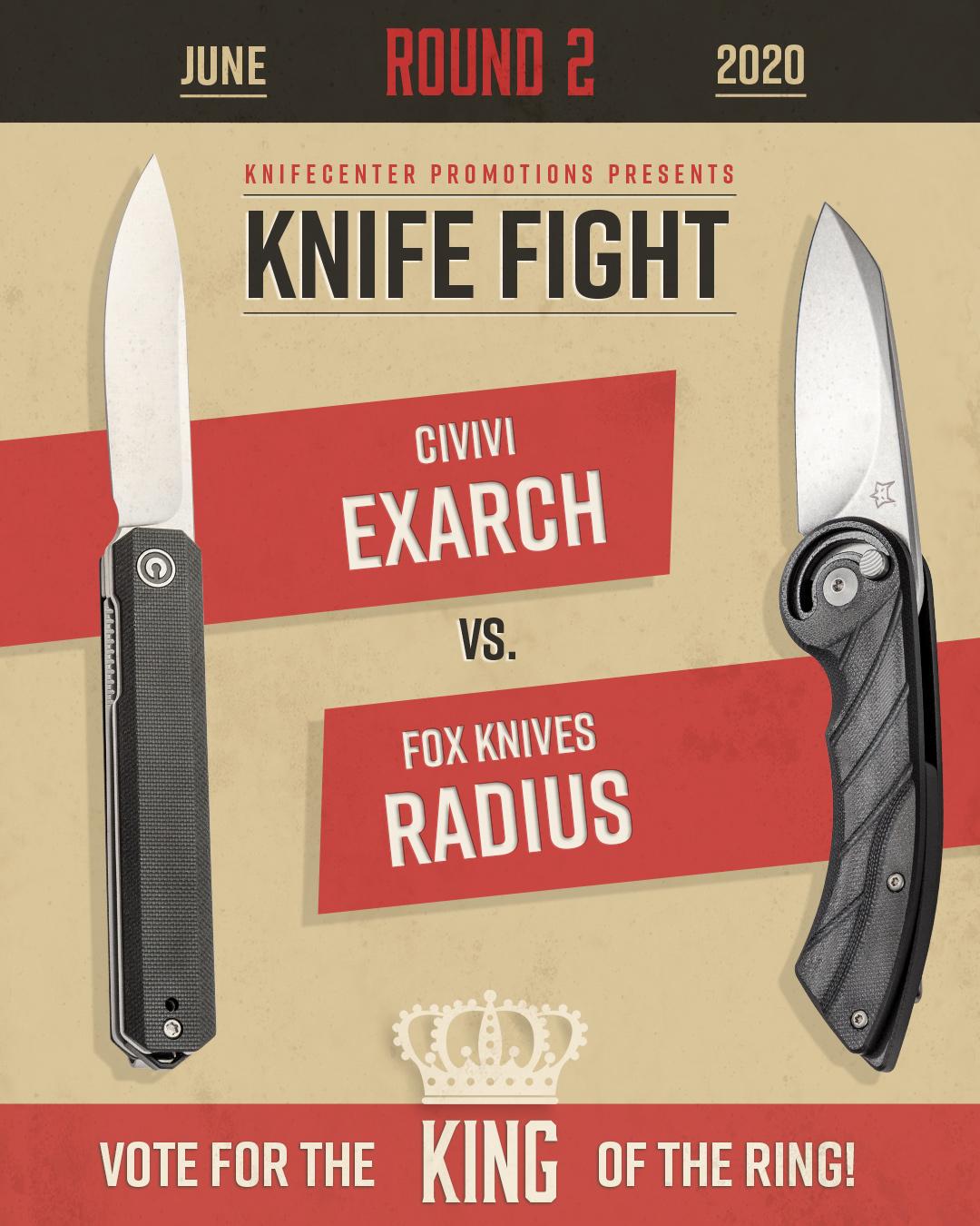 Civivi Exarch vs Fox Knives Radius