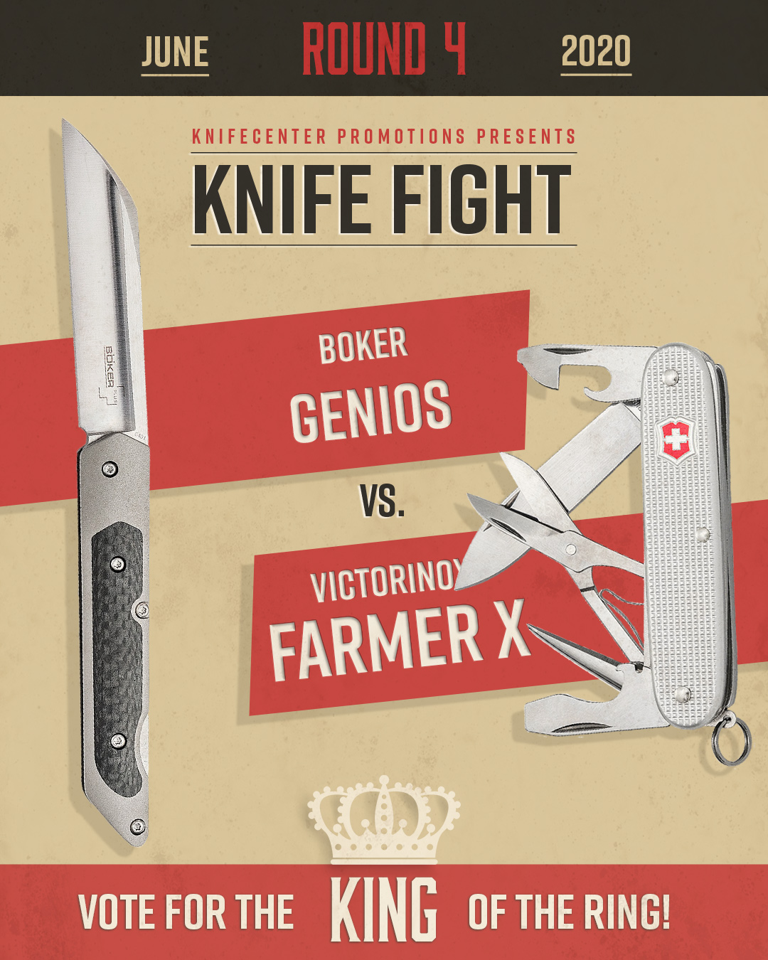 Boker Genios vs. Victorinox Farmer X