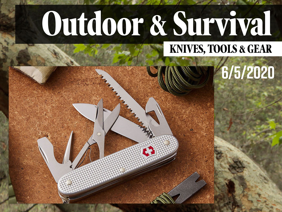 Outdoor & Survival Gear Roundup Banner Graphic