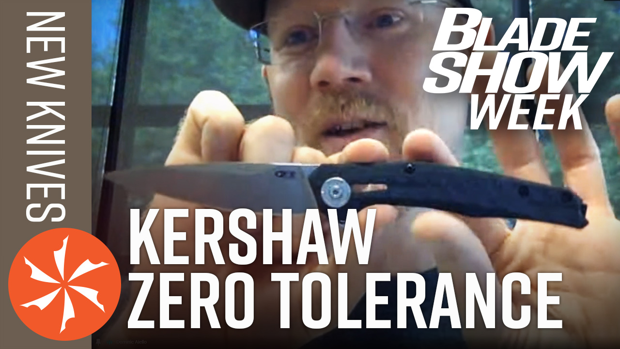 Jim MacNair of Kershaw and ZT showing a new knife!